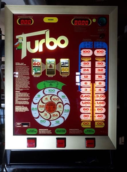 """HELLOMAT """"TURBO"""" von Busch & Co. original auf DM"""
