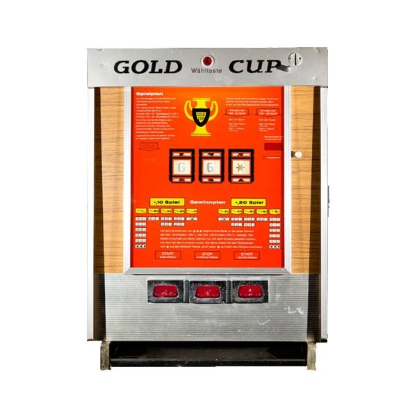 """""""Gold Cup"""" von Busch & Co (später Hellomat) original auf DM"""