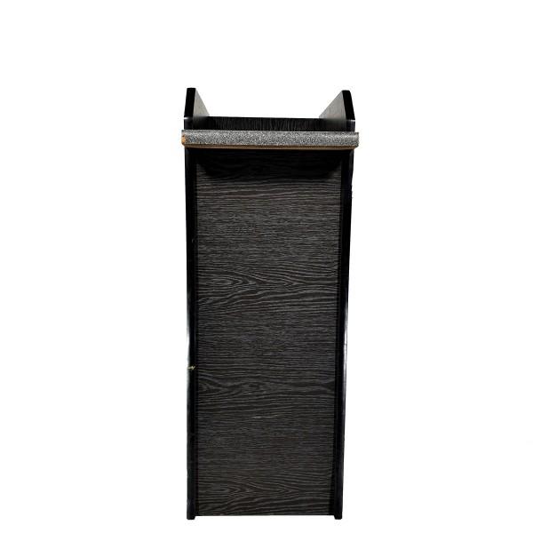 Zwischenablage, Holzoptik schwarz