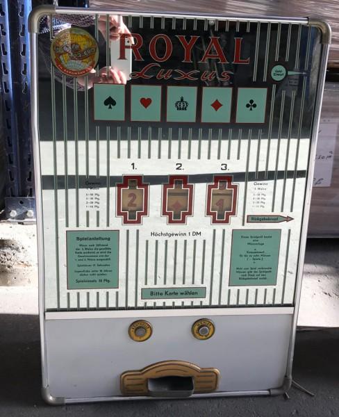 """""""Royal Luxus"""" von Bergmann umgerüstet auf EURO"""