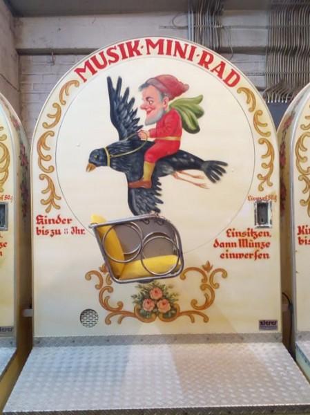 """Mini Musik Rad """"Rabenflug"""""""