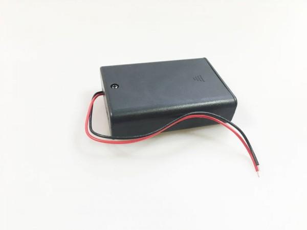 Batterie 3-Fachalter, mit Deckel