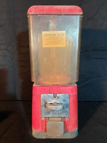 Warenautomat mit Münzeinwurf