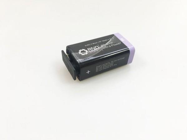 Batterie 9V Block