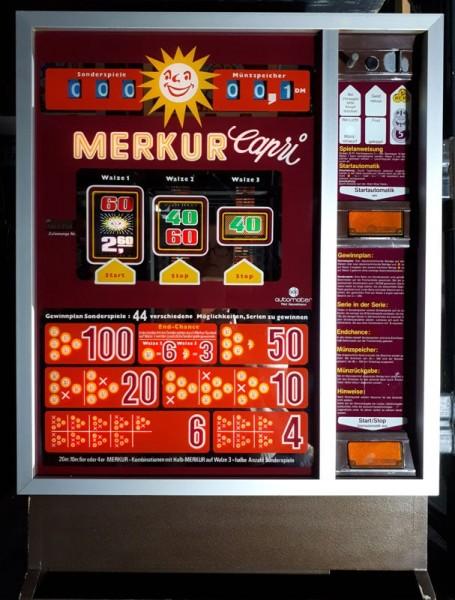 """MERKUR """"Capri"""" von adp mit roter Scheibe original auf DM"""