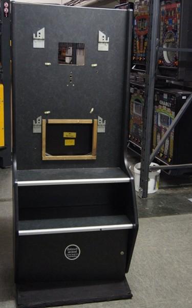 Automatenständer schwarz mit 3er Tresor