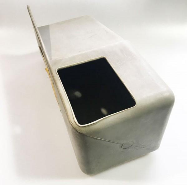 Merkur Kasse ab 79er Jahre Kasse, grau (HIstorisches Originalteil)