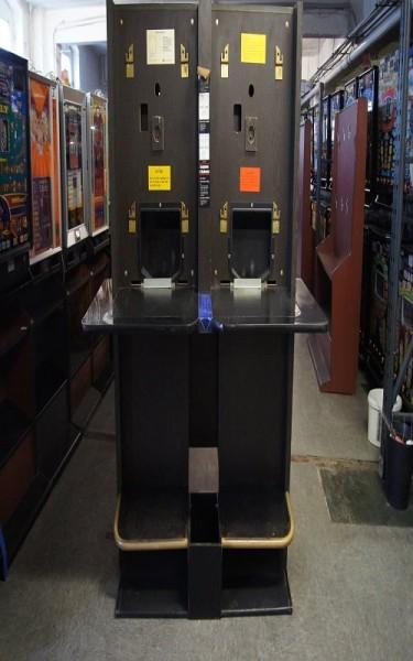 Automatenständer, doppel, schwarz