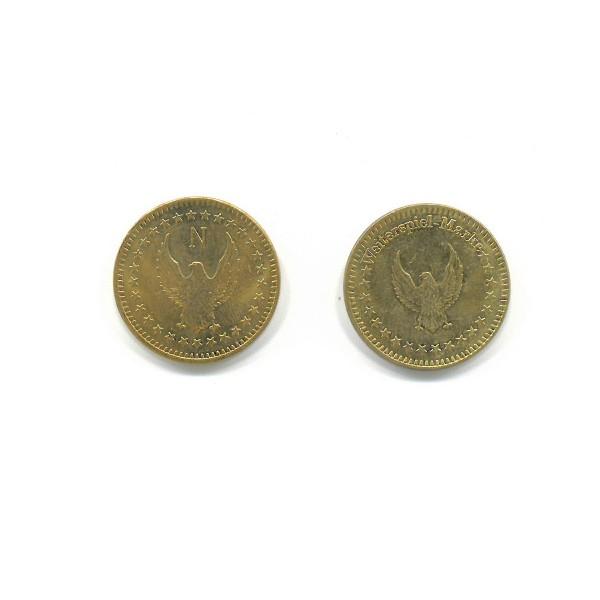 """Token """"Weiterspielmarke"""", gold"""