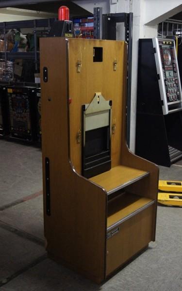 Automatenständer Holz mit Toplight