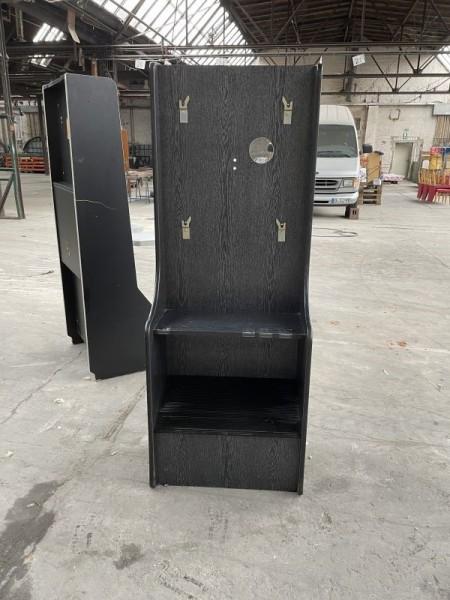 Automatenständer, schwarz
